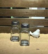 Gönül Porselen 2li Cam Tuzluk Biberlik Seti