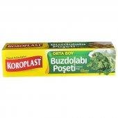 Koroplast Buzdolabı Poşeti Orta Boy 24x38 Cm 30lu ...