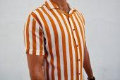 Erkek Çizgili Gömlek Trend