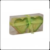 Partipan Kalpli 2li Yeşil Mum