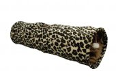 Karlie Kedi Tüneli Leopar Desenli 90x25cm
