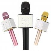 Sihirli Karaoke Bluetooth Hoparlörlü Mikrofon Q7...