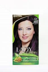 Lady Color Saç Boyası (Patlıcan Moru) 3.66