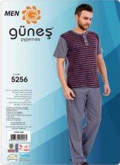 Güneş 5256 Kısa Kol Erkek Pijama Takımı