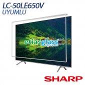 Sharp Lc 50le650v Tv Ekran Koruyucu Ekran Koruma Camı Etiasglass