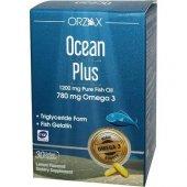 Ocean Plus Omega 3 1200 Mg 30 Kapsül Balık Yağı
