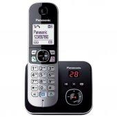 Panasonic Dect Telefon Kx Tg6821 Siyah (Kullanılmış Kutulu)