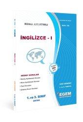 Aöf İngilizce I Güz Dönemi Konu Anlatımlı Soru Kitabı Tek Egem Yayınları