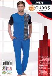 Güneş 4534 Kısa Kol Erkek Pijama Takımı