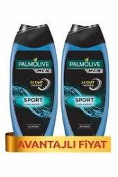 Palmolive Men Sport 3ü 1 Arada Canlandırıcı Erkek Duş Jeli 500 Ml * 2