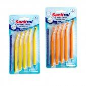 Diş Arası Fırçası Sanitral 5'li (0,7 Mm 1,2mm)