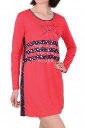 Kadın Tunik Ev Elbisesi Uzun Kollu