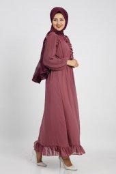 Loreen Kadın Rose Elbise 22120