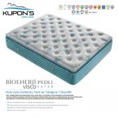 Kupons Bioenerji Pedli Yaylı Visco Yatak 140x190 Cm