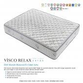 Kupons Visco Relax Yaylı Visco Yatak 180x200 Cm Yastık Hediye