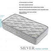 Kupons Ortopedik Silver Bebek Yatağı 70x110 Cm 20 Cm Yükseklik