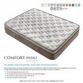 Kupons Comfort Pedli Ortopedik Yaylı Yatak 160x200 Cm