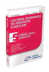 Murat Yayınları 4. Sınıf Güz Çalışma Ekonomisi Ve Endüstri İlişkileri Çıkmış Sorular
