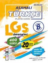 Berkay Yayınları Aşamalı Lgs Türkçe Denemeleri Platin Serisi