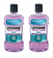 Listerine Total Care Zero 500ml 2 Adet Alkolsüz...