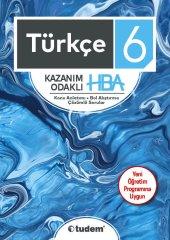 Tudem 6. Sınıf Türkçe Kazanım Odaklı Hba