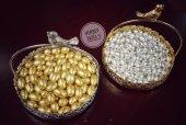 Melodi Altın Ve Gümüş Draje Çikolata 500 Gr