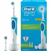 Oral B Vitality Şarj Edilebilir Diş Fırçası Cross Action +1 Yedek