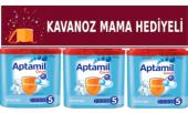 Aptamil 5 Çocuk Devam Sütü 1200 Gr (3x400gr) Skt 05 2020