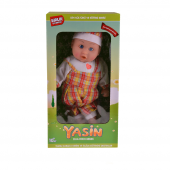 Birlik Türkçe Dua Eden Sarı Elbiseli Yasin Bebek H...