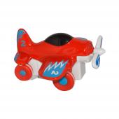 Canem 0783 64 12li Sürtmeli Metal Kırmızı Uçak...