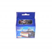 Nerox Led Işıklı Mor Kafa Lambası Nrx 7063