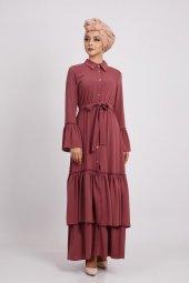 Loreen Kadın Rose Elbise 22130