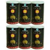 Marmarabirlik Gold Xl 800 Gr X 6, 201 230 Kalibre Siyah Zeytin