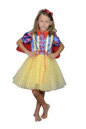 Kız Çocuk Pamuk Prenses Kostümü Party Doğum Günü Elbise