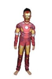Iron Man Kostüm Maskeli