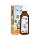 Ocean Omega 3 Portakal Aromalı Balık Yağı 150 Ml