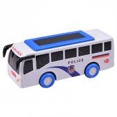 Sesli Ve Işıklı Polis Otobüsü