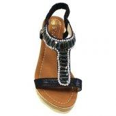 De Scario Taşlı Topuklu Ayakkabı