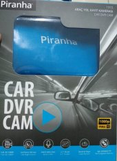 Piranha 1315 Araç Yol Kayıt Kamerası Full Hd 1080p...