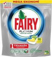 Fairy Platinum Bulaşık Kapsülü Limon Kokulu
