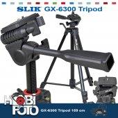 Nikon D3200 İçin Profesyonel Slık Gx 6300 Tripod 159 Cm