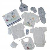 Kız Erkek Bebek 10 Parça Hastane Çıkış Seti C72537 2