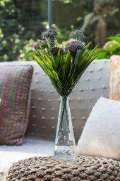 2li Allium Pembe Yapay Çiçek
