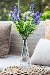 2li Mor Nemesia (Ömürsüz) Yapay Çiçek