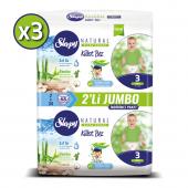 Sleepy Natural Külot Bez 3 Beden Midi 3x2li Jumbo ...