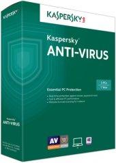 Kaspersky Anti Virus Virüs Programı 2019 1 Pc 1 Yıl Türkçe