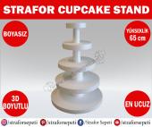 Strafor Sepeti Strafor Cupcake Standı Boy 65 Cm Boyasız, Strafor Dekor, Strafor Parti, Strafor Doğum Günü