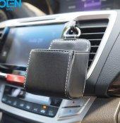 Araç İçi Ceplik Oto Deri Telefon Anahtar Cebi Araç Konsol Organi