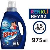 Bingo Sıvı Deterjan Renkli Ve Beyaz 975 Ml