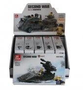 Tıgoes 23058 Second War 6lı Paket Oyuncak